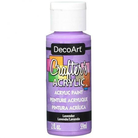 Crafters Acrylic - 59ml Acrylic - Lavender