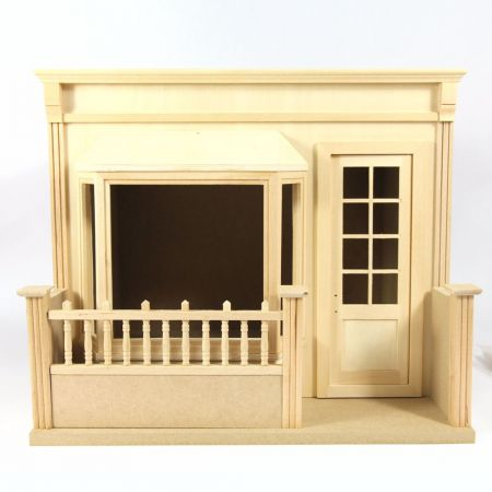 French Cafe - Shop - 1:12 Scale Kit