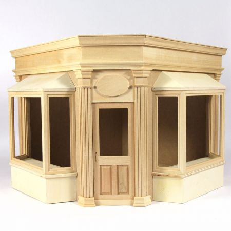 Boutique Corner Shop - 1:12 Scale Kit
