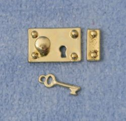 Brass Lock & Key
