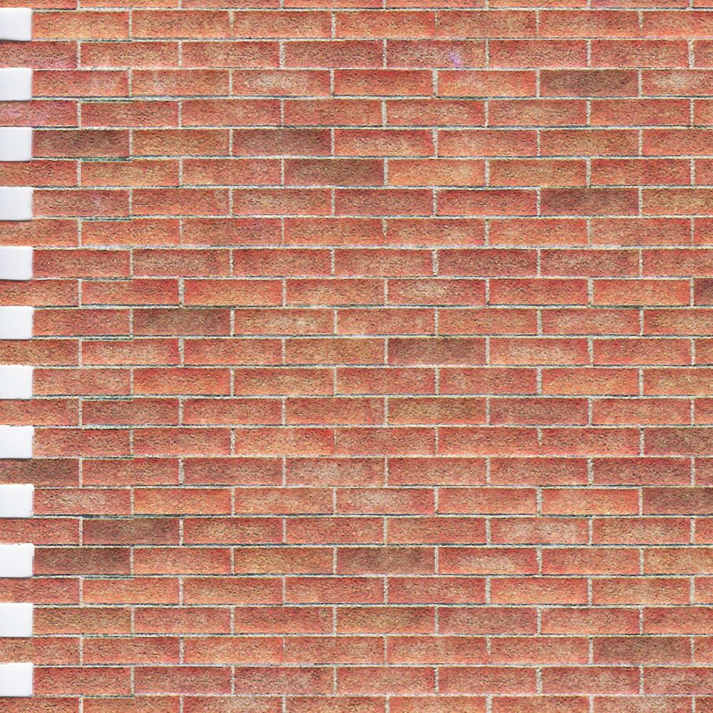 Embossed Brick Sheet Diy646 Bromley Craft
