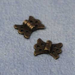 Antique Butterfly Hinges x 2 pcs