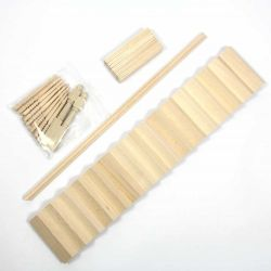 Straight Staircase Kit (Wood) - 1:12 scale