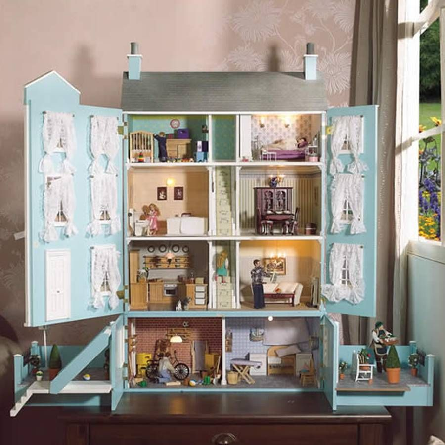The Classical Dolls House Kit From Bromley Craft Products Ltd - Dolls house interior