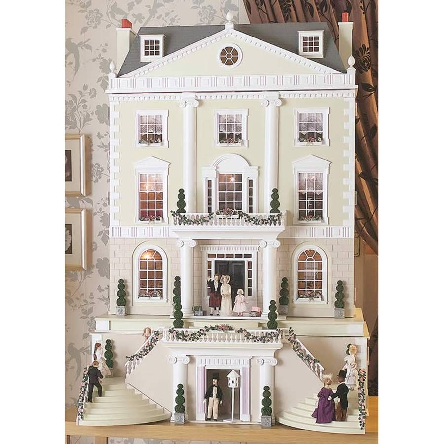 Grosvenor Hall Dolls House Kit 1739 Bromley Craft