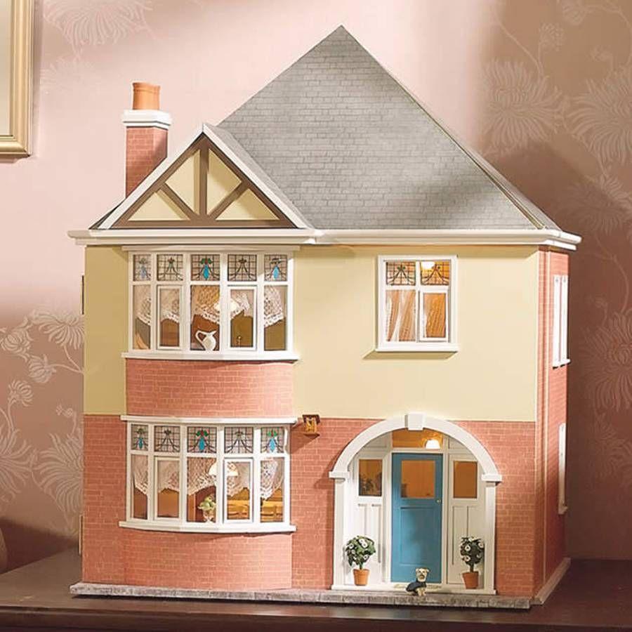 The Mountfield Dolls House Kit Dolls House Kits 12th