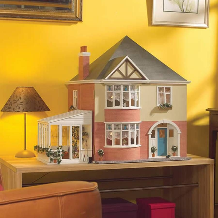 The Mountfield Dolls House Kit 2600 Bromley Craft