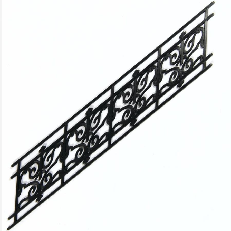 Wrought Iron Stair Railing (plastic) (5799) | Bromley Craft