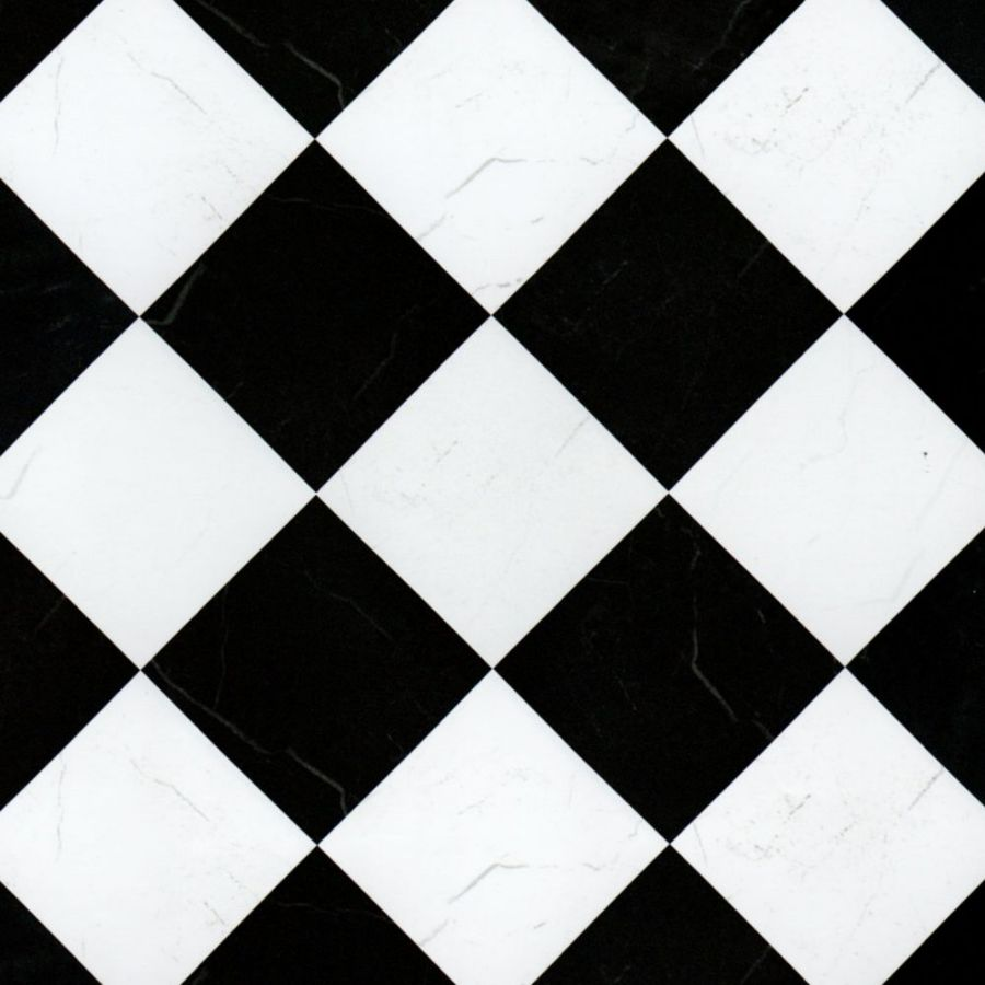 Black Amp White Marble Floor Tile Paper 5881 Bromley Craft