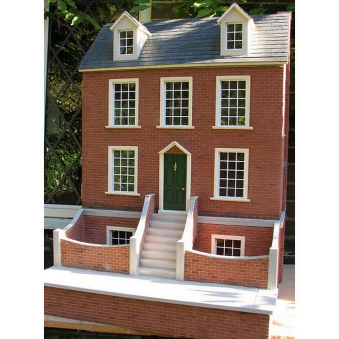Great Georgian Dolls House 1:12 Scale. Tap To Expand