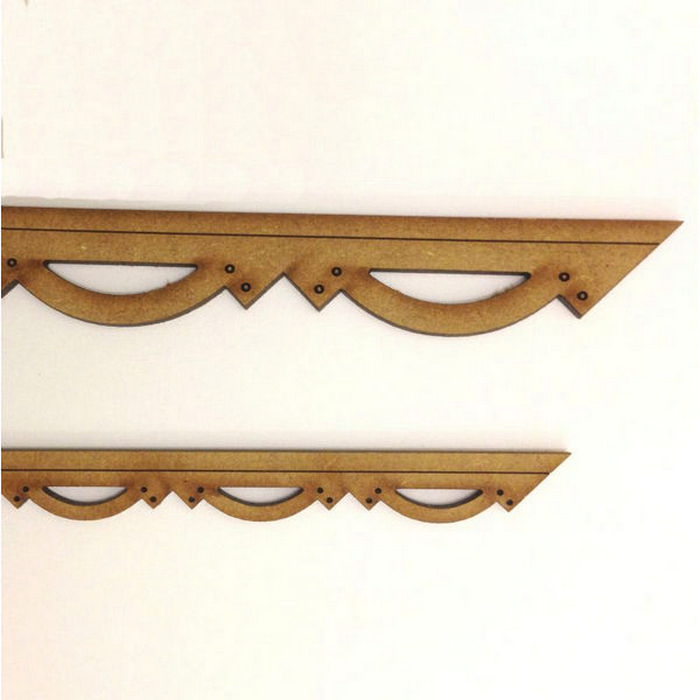 Perfect Decorative Barge Board Moulding Mdf Bcm101. Wooden Mouldings