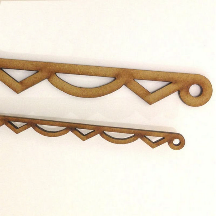 Decorative wood trim for furniture - Bcm102 Decorative Barge Board Moulding Mdf From Bromley Craft