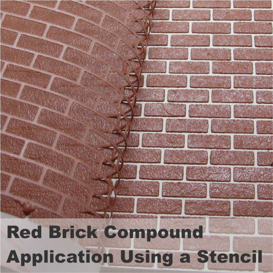 Realistic Brick Compound Red Brick Bcp Bromley Craft