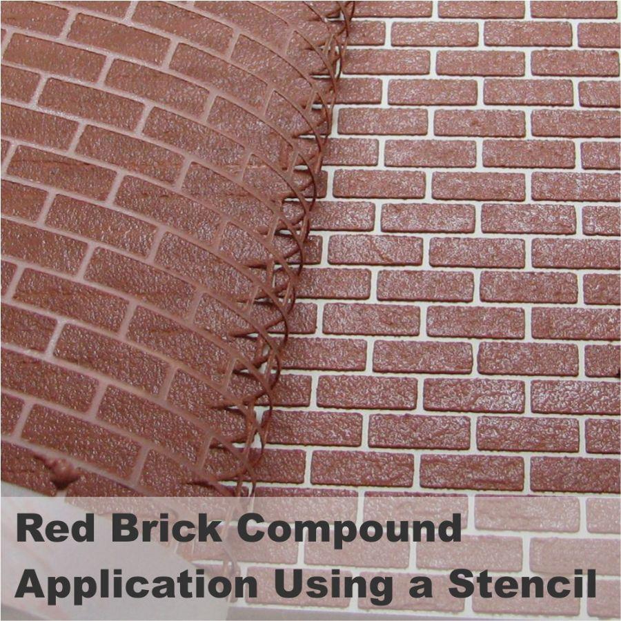 Realistic Brick Compound Red Brick Bcp