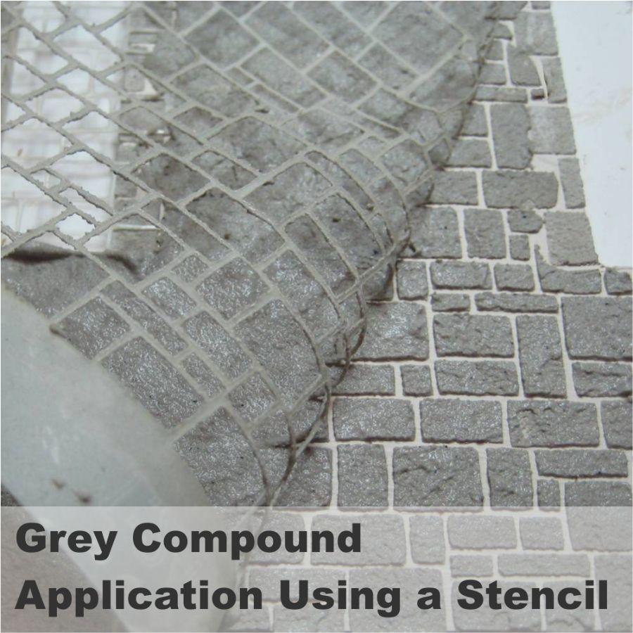 Realistic Brick Compound Grey Neutral Bcpg