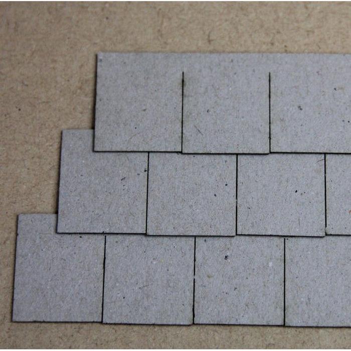 Dolls House Roof Tiles Slate Strips X12 Bct10
