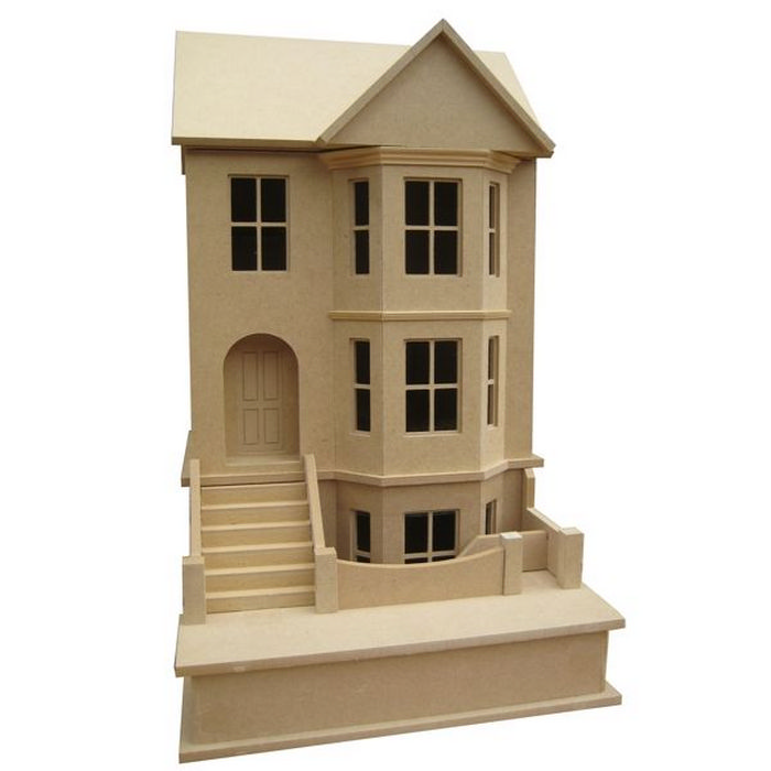 Bay View House - Unpainted Kit (1:24 scale), BDH0124