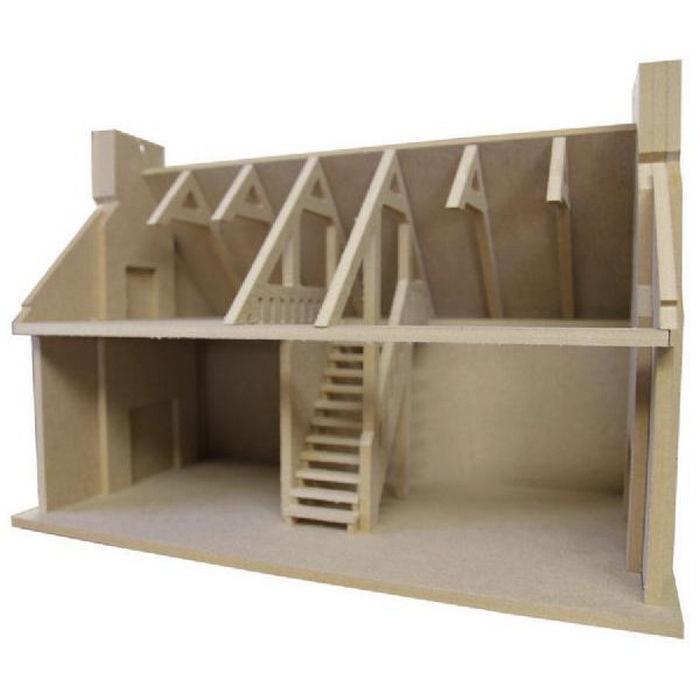 Crofters Cottage Unpainted Kit 1 24 Scale Bdh0324