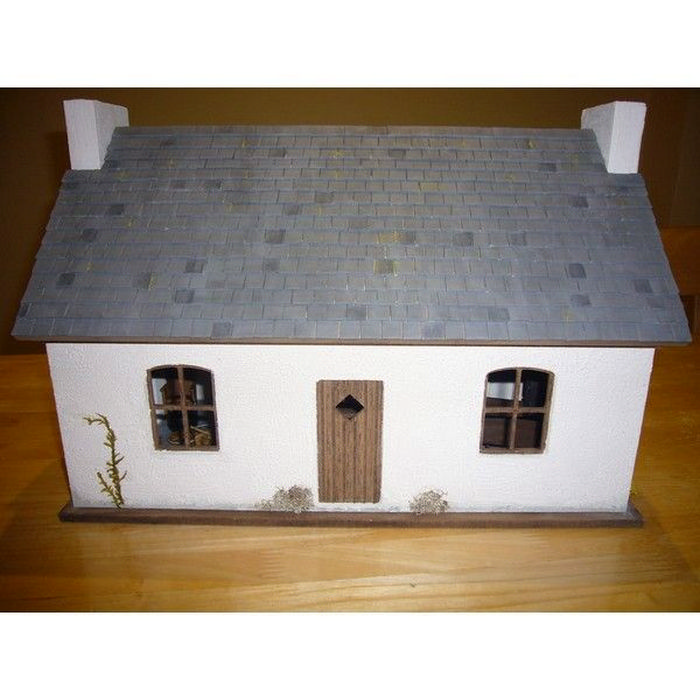 Crofters Cottage Unpainted Kit 1 12 Scale Bdh0312