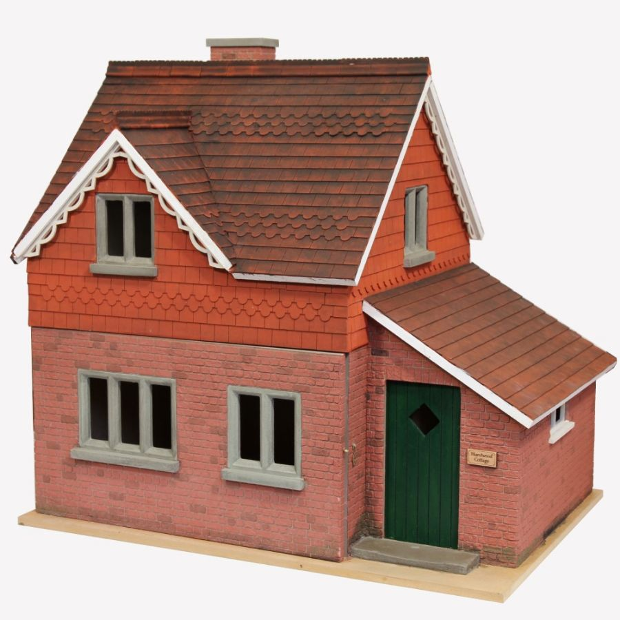 Hurstwood Cottage Dolls House Kit (1:12 Scale). Hover To Zoom