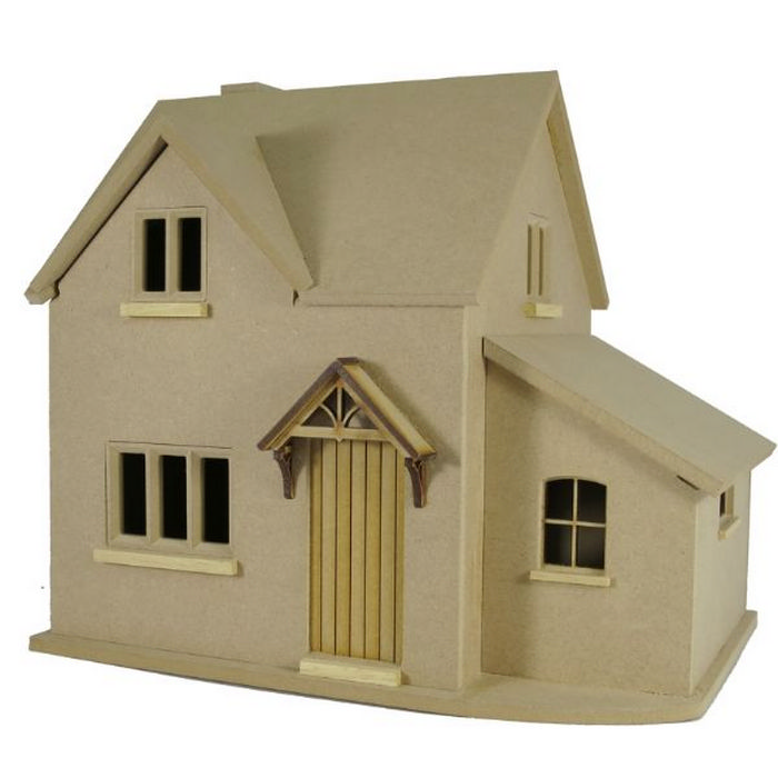 Hurstwood Cottage Dolls House Kit (1:24 Scale). Tap To Expand
