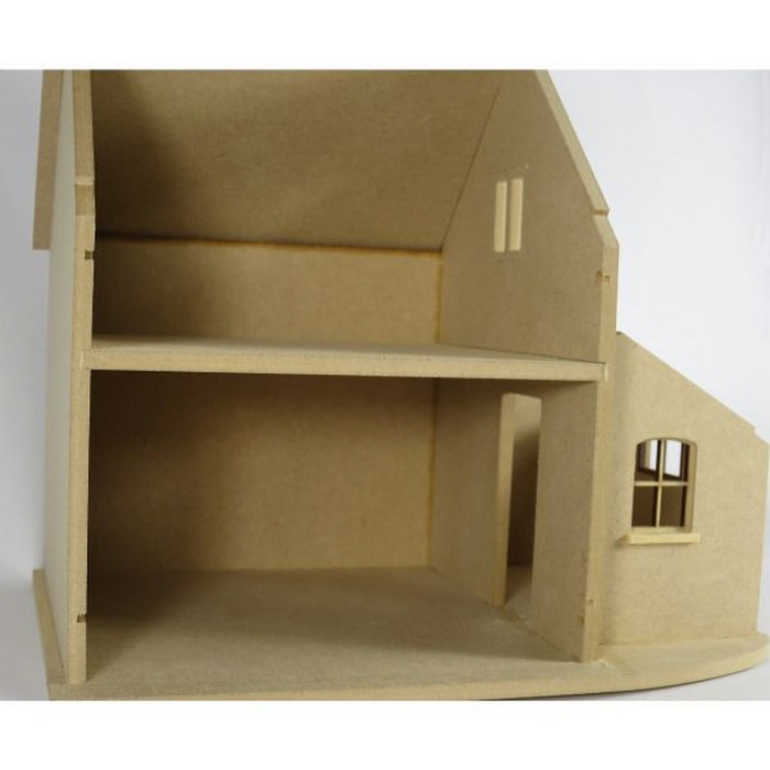 Hurstwood Cottage Dolls House Kit 1 24 Scale Bdh0524