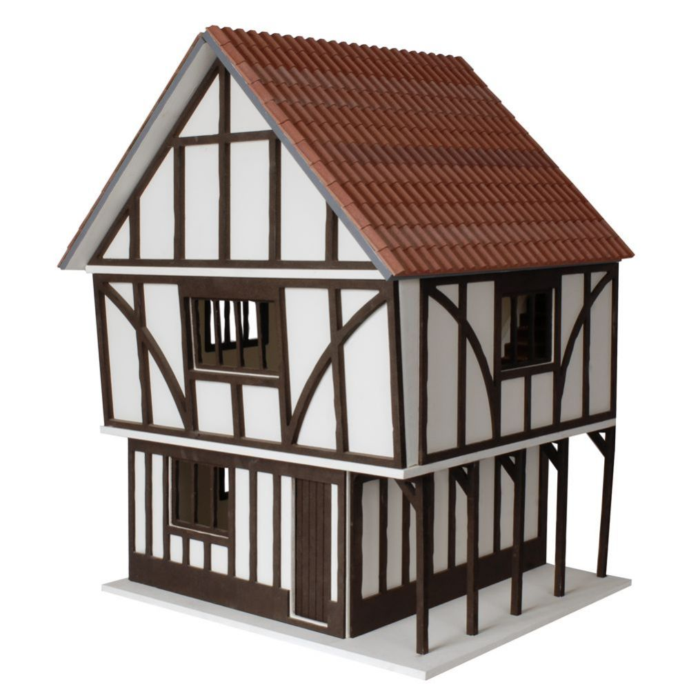 The Stockwell - Tudor Style Dolls House Kit, BTK001