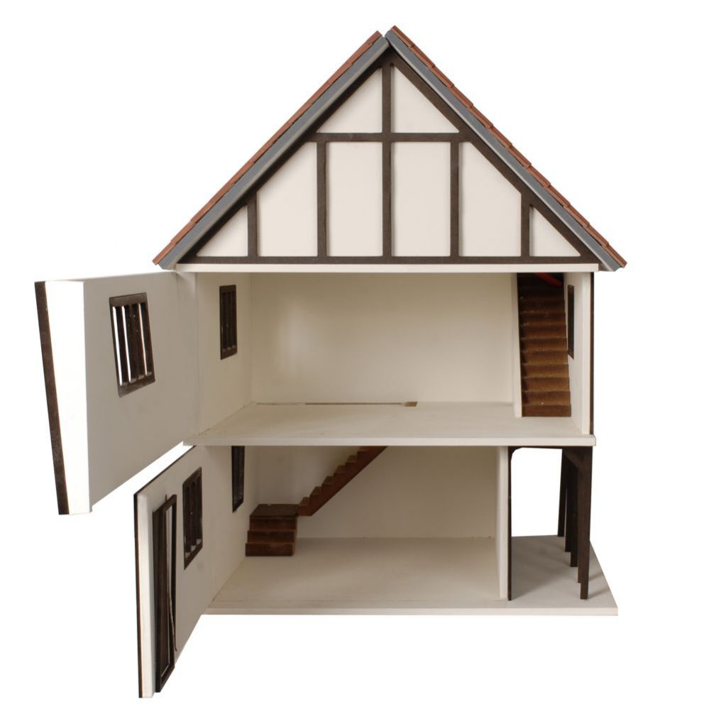 The stockwell tudor style dolls house kit btk001 for Tudor style house for sale