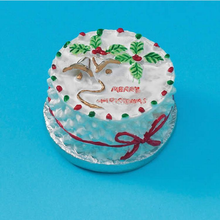 Round Christmas Cake D1928 Bromley Craft