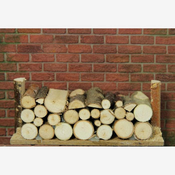 Large Log Pile 1 12 Scale D2318