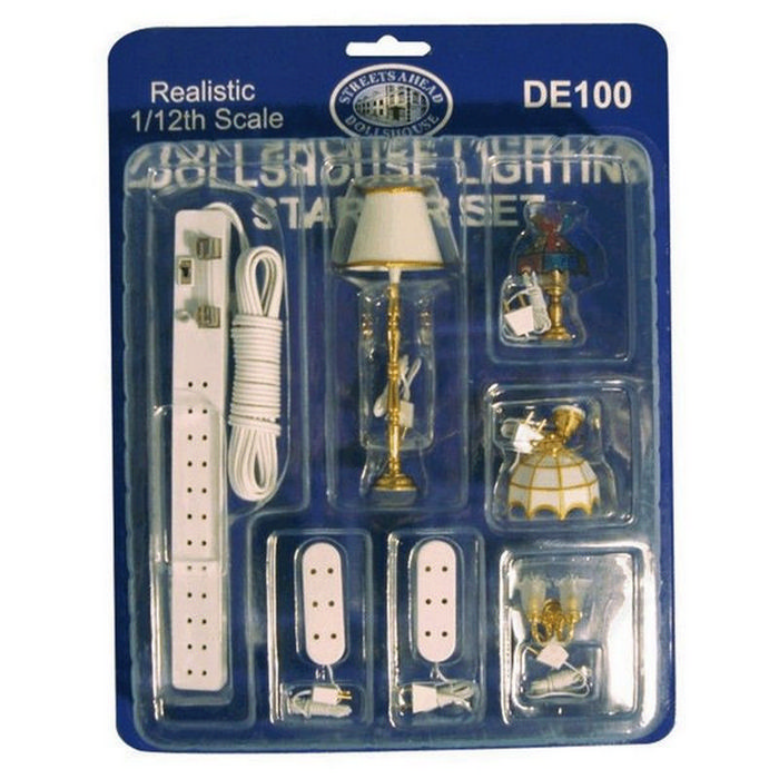 Marvelous Dolls House Lighting Kit De100 Bromley Craft Wiring Digital Resources Cettecompassionincorg
