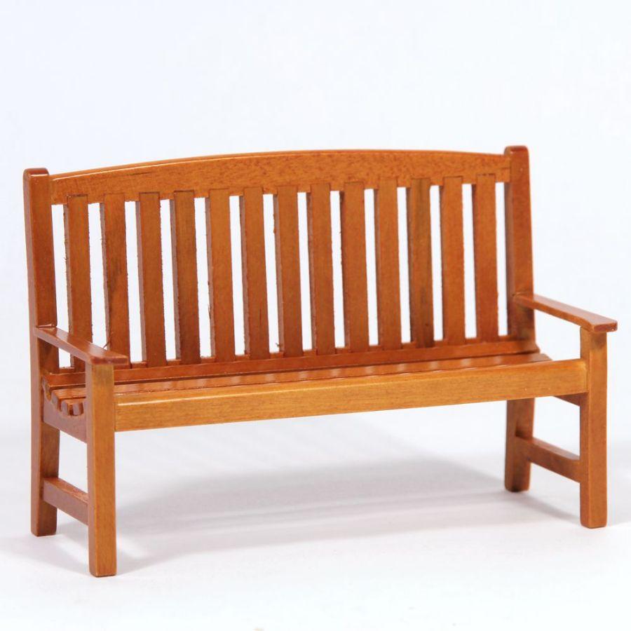 Astonishing Miniature Garden Wooden Bench Short Links Chair Design For Home Short Linksinfo