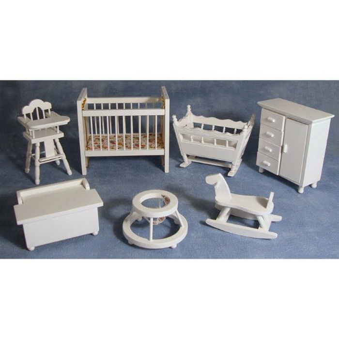 DF269 - Dolls House Nursery Set from Bromley Craft Products Ltd.