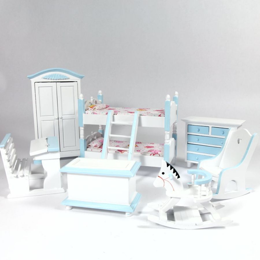 bedroom set with bunk beds blue bedroom furniture df900b from