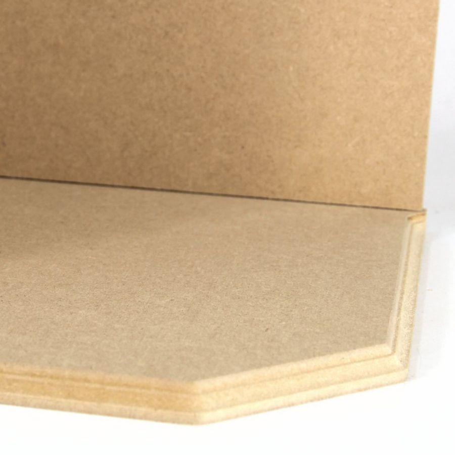 Small Room Box Kit Dhw021: Open Corner Room Box Kit (CLDHW021CO)