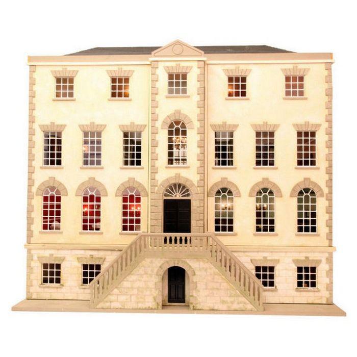 Preston Manor Dolls House Kit Dhw41 Bromley Craft