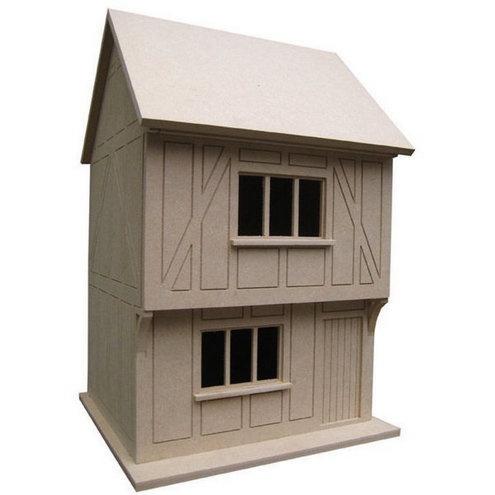 Tudor House   Unpainted Kit (1:24 Scale). Hover To Zoom