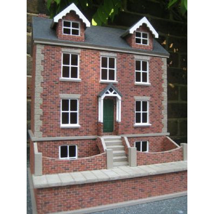 Willow Cottage With Basement 1 24 Scale Dolls House Dhw80