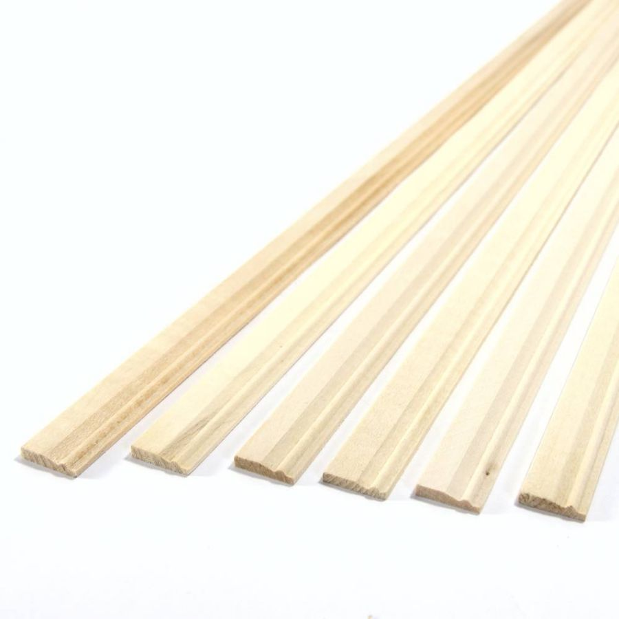 Tall skirting board moulding 6x18 lengths diy053m for Wood skirting