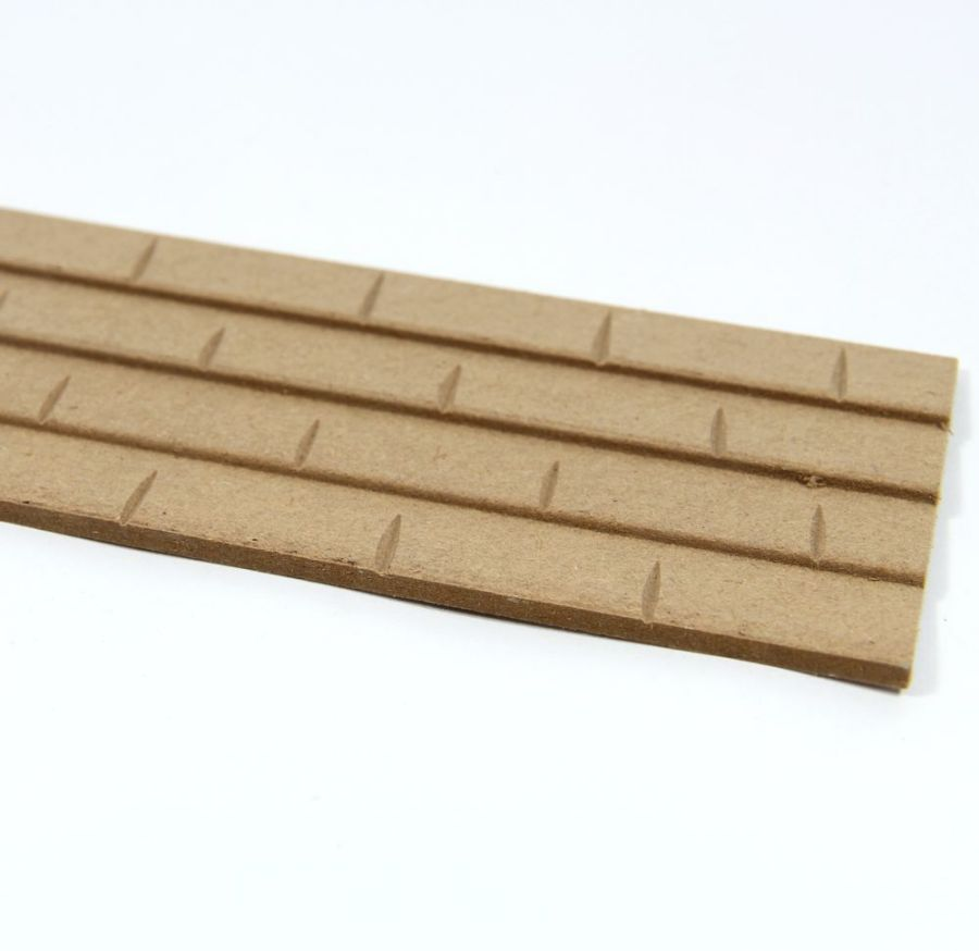 Mdf Roof Tile Sheet 1 12 Scale Diy065 Bromley Craft