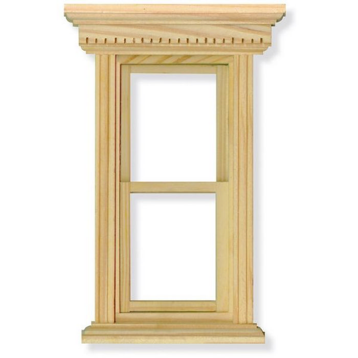 Opening Sash Window Frame For 1 12 Scale Dolls House