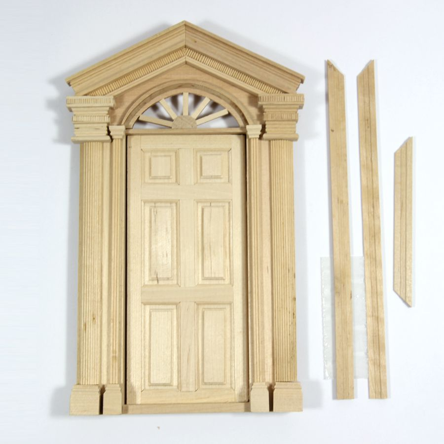 Dolls House Window Frames And Doors From Bromley Craft Products