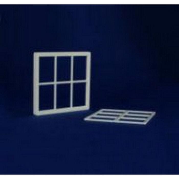 6 pane window frame plastic 1 12 scale diy136 for 12 pane door