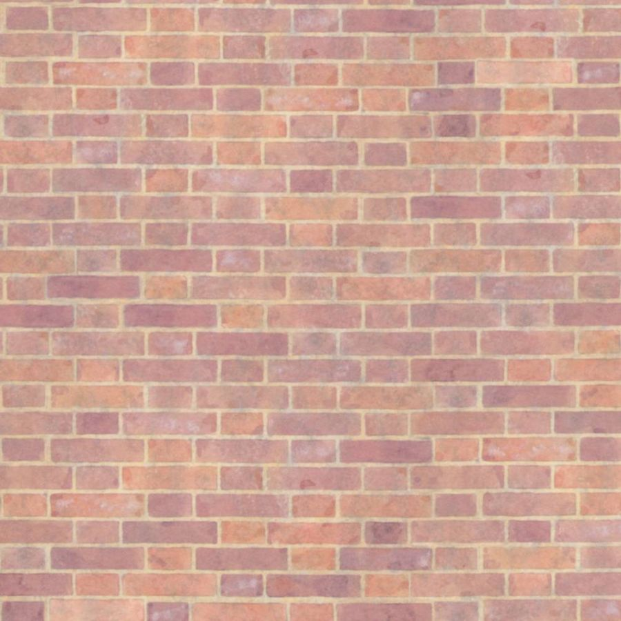 Old Red Brick Paper For Dolls House Diy263 Bromley Craft