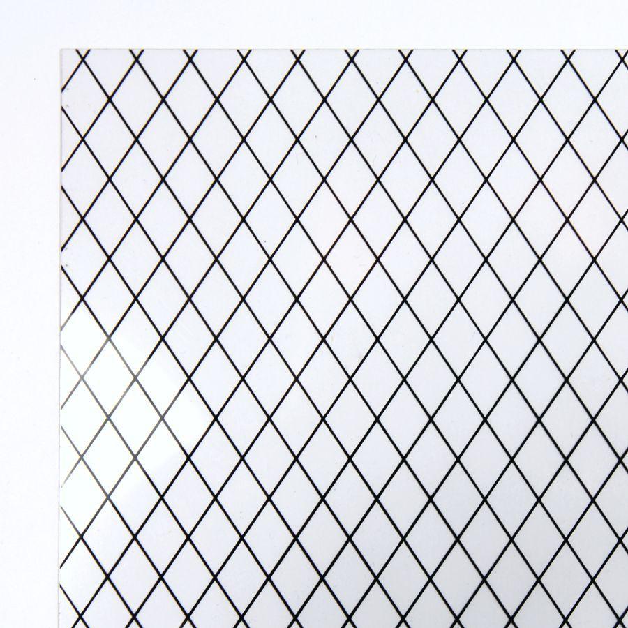 Diamond Lead Light Acrylic Window Sheet Diy408 Bromley