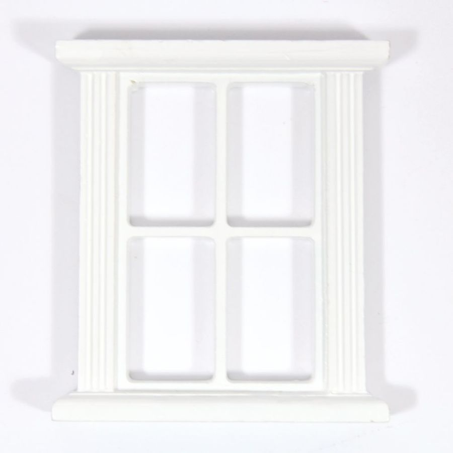 White window frame - Click To Expand