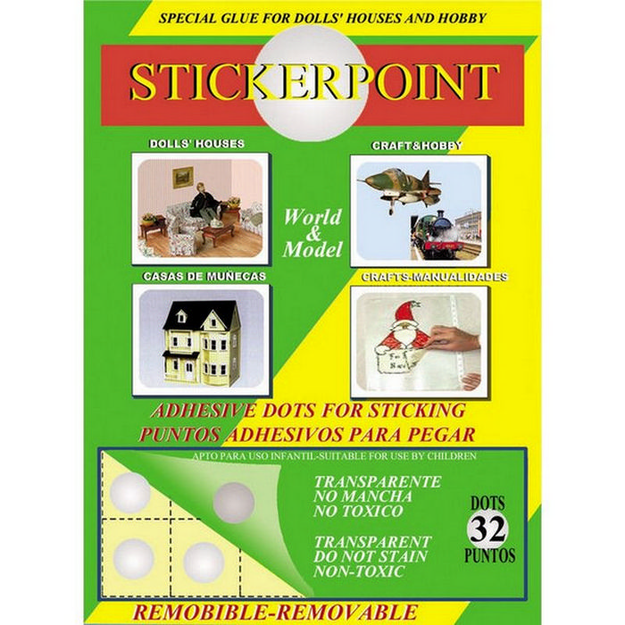 Sticker Point Removable Silicon Glue Dots Diy649