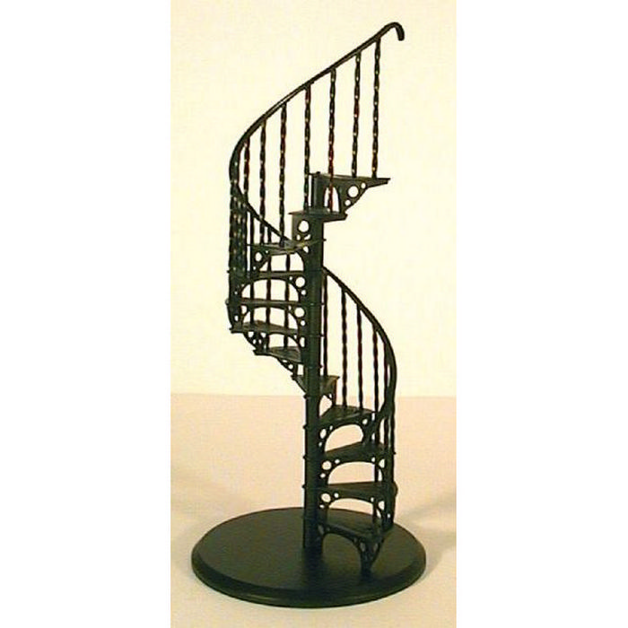 fpscase metal spiral staircase kit 1 12 scale from bromley craft