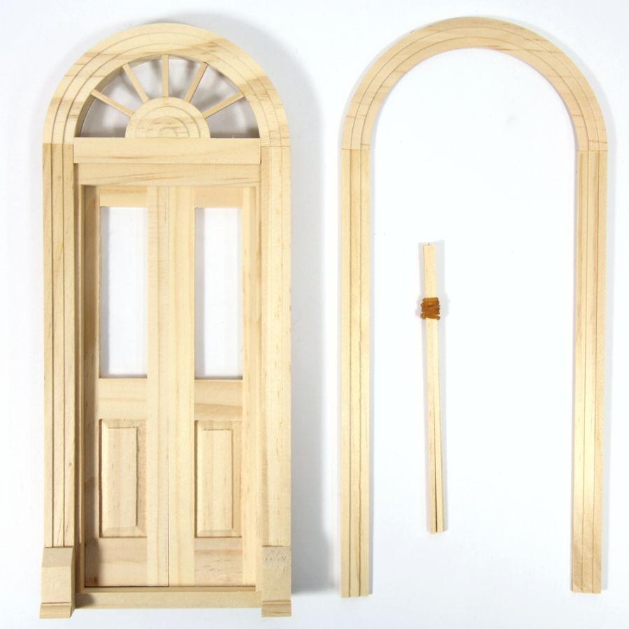 Palladian Double Entry Door, HW6016