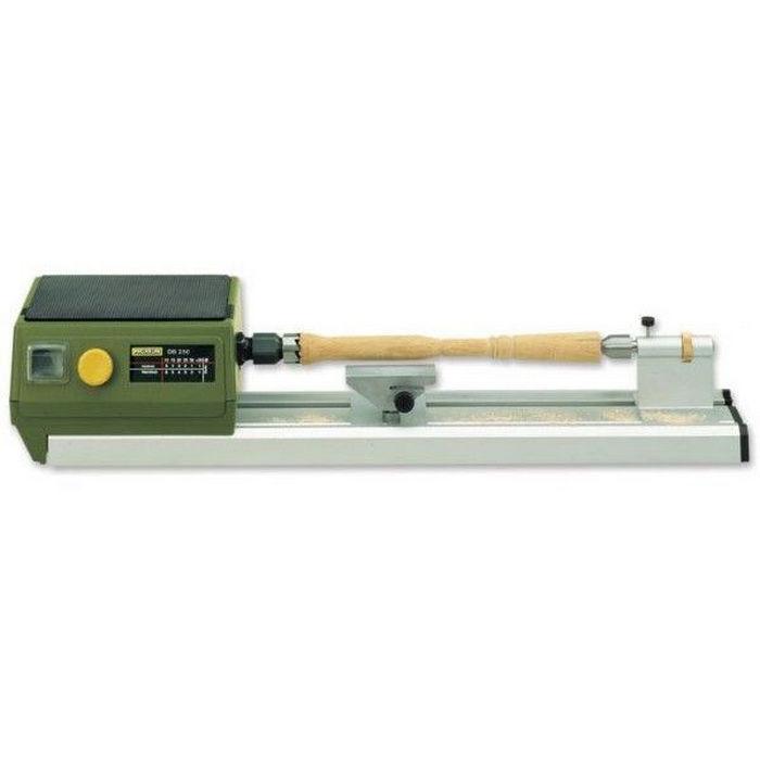 Proxxon db250 micro woodturning lathe px702054 for Mini tornio proxxon